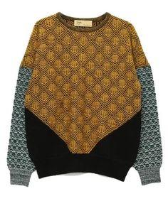 """TOGA(トーガ)のJacquard knit pullover 2(ニット・セーター)|イエロー"" https://sumally.com/p/1051755?object_id=ref%3AkwHNPvaBoXDOABAMaw%3AyKTv"