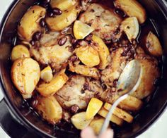 Black bean potato chicken casserole
