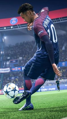 Want to experience the best skills by Neymar jr that will blow ur mind. Come experience the best entertaining Freekicks runs from EA sports FIFA 19 that will. Neymar Psg, Messi And Neymar, Messi And Ronaldo, Ronaldo Juventus, Cristiano Ronaldo, Ronaldo Football, Nike Football, Football Art, Football Boots