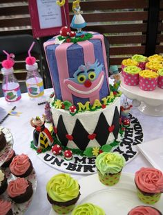 Incredible cake at an Alice in Wonderland girl birthday party!  See more party ideas at CatchMyParty.com!