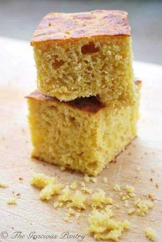 Clean Eating Corn Bread from www.TheGraciousPantry.com