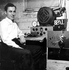 Canadian, Al Gross invented the walkie-talkie in 1938. In 1948, he pioneered Citizens' Band (CB) radio. In 1949, the very first telephone pager device was patented by Al Gross and used by the Jewish Hospital in New York starting in 1950. These were not consumer units. Al Gross' device did not win FCC approval until 1958. Canadian People, Citizen Band, Canadian History, Ham Radio, Documentary Film, Canada Travel, History Facts, Walkie Talkie, Interesting Facts