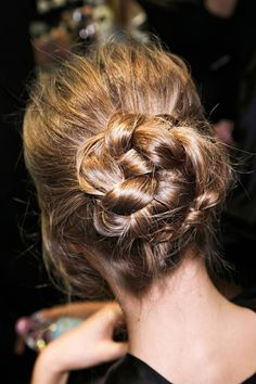 Your weekend hairspiration, straight from the runway.