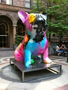 NYC giant french bulldog, must see this! Baby French Bulldog, French Bulldog Names, French Bulldogs, Crazy Dog Lady, Sculpture, Beautiful Creatures, Animal Pictures, Cute Dogs, Cute Animals