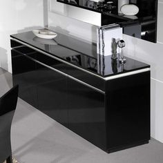Billig sideboard schwarz hochglanz lack