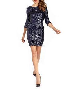 Paris Sequin Party Dress | Hudson's Bay