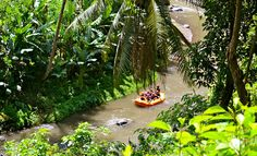 River rafting on the Ayung River in Indonesia | Read more adventure travel ideas in Asia