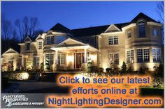 Image result for lighting in front of house