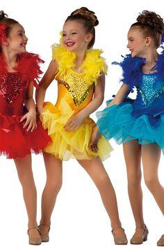 15553 Birds of a Feather | Novelty Dance Costumes | Dansco 2015 | Pinterest Keywords: Little Birds