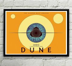 Fear is the mind killer! Dune prints available online at darkvisionsart.etsy.com #art #artwork #illustration #Dune #davidlynch #fanart #frankherbert #painting #sand #cinema #instaart #space #geek #twinpeaks #eye #popart #artist #design #artists #spice #ink #paint #scifi #poster #minimalism by darkvisionsart