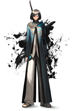 Jin Design - Characters & Art - Blade & Soul
