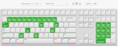 Save Time With This Free Keyboard Shortcut App Online interactive map for all shortcuts
