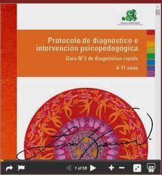 Orientar en Extremadura: Protocolo de diagnóstico e intervención psicopedagógica. Guía Nº - 2 de diagnóstico rápido 6-11 años.
