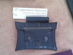 Tobacco pouch made from bicycle inner tubes