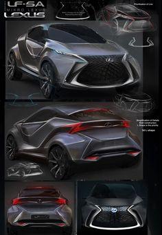 Design Development: Lexus LF-SA concept - Car Design News