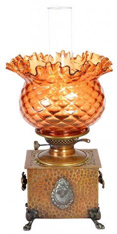 Hurricane Oil Lamps, Brides Basket, Antique Oil Lamps, Oil Light, Gas Lights, Kerosene Lamp, Lamp Shades, Antique Furniture, Lamp Light