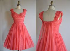 LOVE THE Back on this one! I WILL wear something like this one day!!!vintage 1950's