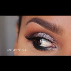 Anastasia Beverly Hills Shadow Couture palette:  Crease morocco as transition color Fudge  on crease as well  Brow bone spoiled Lid pink champagne Noir on lower lash line