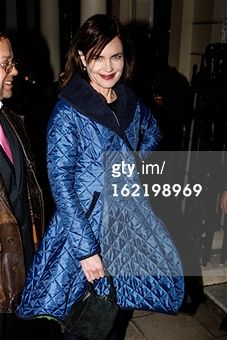Search - Getty Images UK: elizabeth mcgovern wearing Henrietta Ludgate  coat