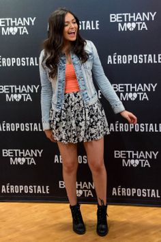 Bethany Mota meets her fans at the Aeropostale store in Fashion Place Mall in Murray where she opened a new line of clothing. (Trent Nelson  |  The Salt Lake Tribune)