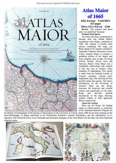 Atlas Maior of 1665  - TASCHEN