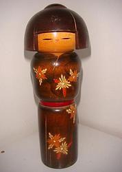 Sosaku Kokeshi  #kokeshi #dukker #japan #japanske_dukker Til salg / for sale at   mariannepetersen.wix.com/kokeshi