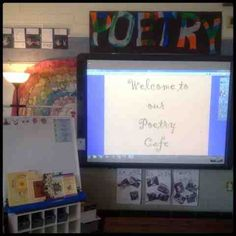 Inquiring Minds: Mrs. Myers Kindergarten: Exploring Poetry and a Poetry Tea for the Parents