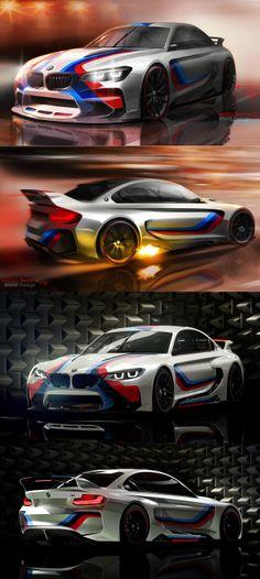 BMW Vision Gran Turismo Us Cars, Sport Cars, Race Cars, Bmw Performance, Bmw 6 Series, Bmw E30, Car Sketch, Car Engine, Classic Cars