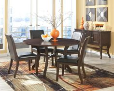 Calais, Calais Round Dining Table w/ Lazy Susan Dining Room Set, Dining Room Table Sets, Bedroom Furniture, Curio Cabinets and Solid Wood Furniture - Model - Home Gallery Stores Furniture Casual Dining Rooms, Dining Room Sets, Dining Room Furniture, Low Dining Table, Dining Area, Hudson Furniture, White Furniture, Küchen Design, Side Chairs