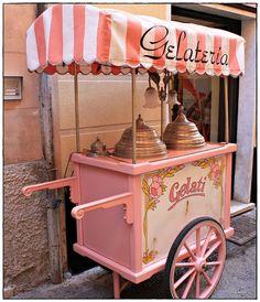 ice cream ... always on the road