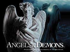 Dan Brown. Is the best author of his kind seriously. Okay, I liked the Da Vinci Code but Angels & Demons was EPIC. Plus the sculpture from the film is epic too!