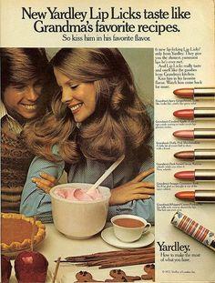 Yardley lipstick 1970s