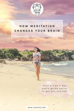 How does meditation work? Your brain and neuroplasticity - Ché Dyer Meditation For Anxiety, Easy Meditation, Buddhist Meditation, Meditation Benefits, Meditation For Beginners, Meditation Techniques, Chakra Meditation, Meditation Practices, Mindfulness Meditation