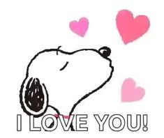 The perfect Snoopy Kiss Heart Animated GIF for your conversation. Snoopy I Love You, Daddy I Love You, Love You Gif, Good Night Love Images, Good Morning My Love, Gifs Snoopy, I Love You Animation, Friday Dance, Faith Sayings