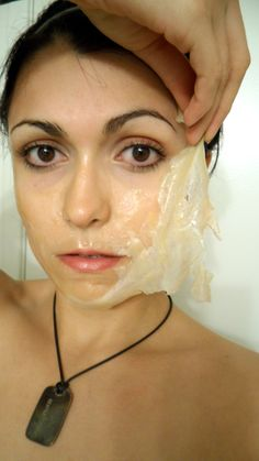 Honey and Tea Tree Oil Face Peel