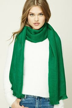 Please click on the picture to go to the detail page. FOREVER 21+ Frayed Oblong Scarf