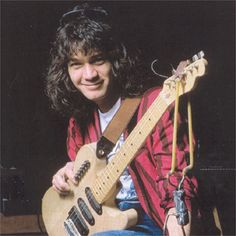 Eddie Van Halen back in the day