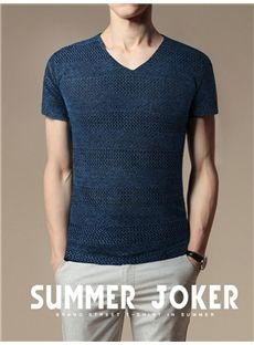 Fashion Summer Flax T-Shirt