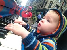 piano on Herald Square