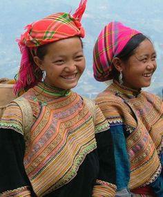 Hmong close up - , Dien Bien Vietnam by Pierre Che