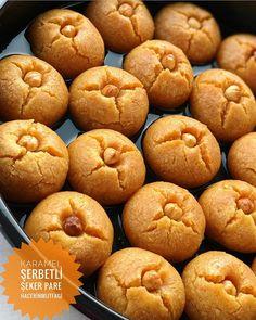 Image may contain: food Turkish Sweets, Cream Puff Recipe, Arabic Dessert, Breakfast Items, Turkish Recipes, Artisan Bread, Bread Baking, Sorbet, Dessert Recipes