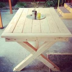 Free DIY Furniture Plans to Build a PB Inspired Toscana Table | The Design Confidential