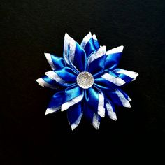 Blue Flower Ornament, Star Christmas Ornament, Christmas Tree Decoration, Snowflake Ornament, Hanging Decoration, Home Decor, Gift Exchange by LilominaCreations on Etsy