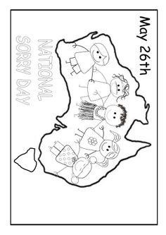 National Sorry Day Australia. Aboriginal Symbols, Aboriginal Education, Indigenous Education, Aboriginal History, Aboriginal Culture, Aboriginal Art, Teaching Activities, Infant Activities, Teaching Resources