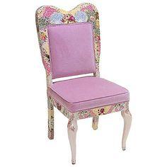 Vintage Princess Chair from PoshTots  www.poshtots.com/