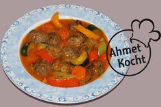 Rezept: Hackbällchen mit Zucchini - AhmetKocht - Folge 119