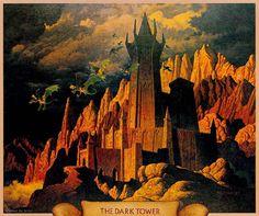 The dark tower - Illustrazioni da antichi libri
