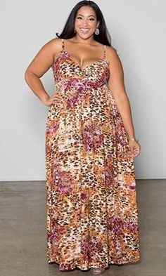 Plus size dress...cute!