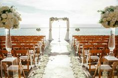 Glamorous Beachside Surf & Sand Resort Wedding [Intertwined Events] www.intertwinedevents.com