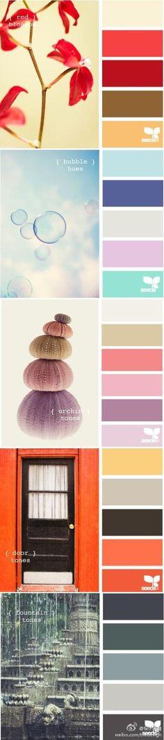 Love all the pretty combinations :)